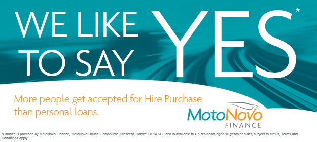 We Say Yes with MotoNovo Finance
